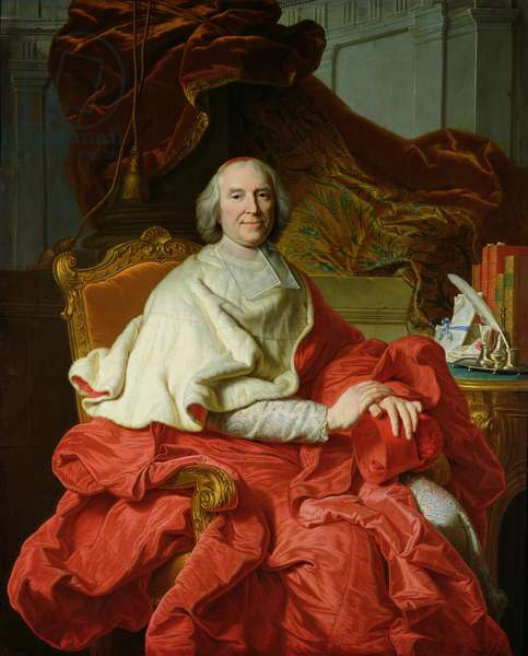 Andre Hercule de Fleury (1653-1743) 1728 (oil on canvas)