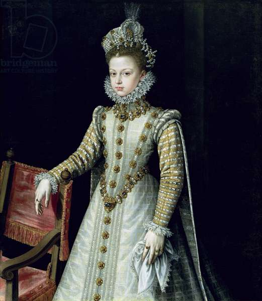 The Infanta Isabel Clara Eugenie (1566-1633) 1579 (oil on canvas)