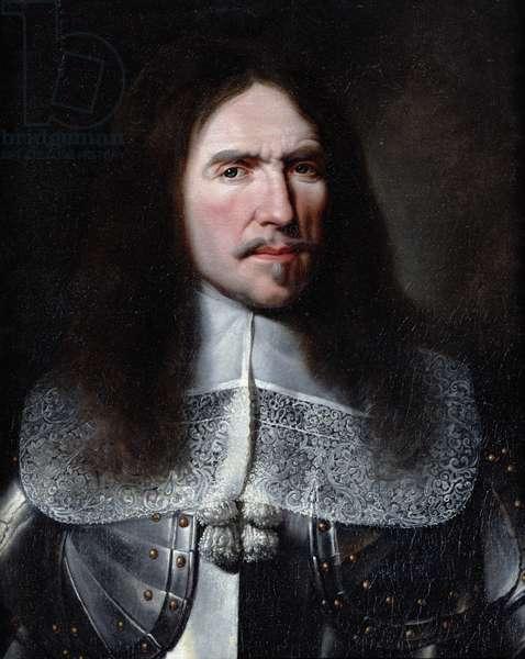 Henri de la Tour d'Auvergne (1611-75) Viscount of Turenne (oil on canvas)
