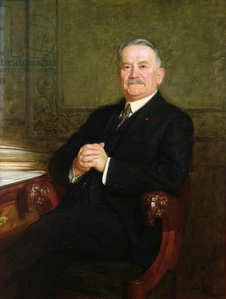 Portrait of Gaston Doumergue (1863-1937) 1926 (oil on canvas)