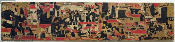 Ach Alma Manetro, 1949 (collage)