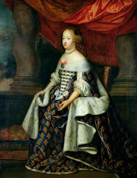 Portrait of Marie-Therese of Austria, after 1660 (oil on canvas)