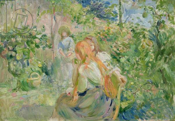 In the Garden at Roche-Plate, 1894 (oil on canvas)