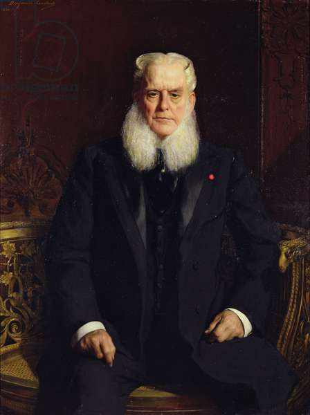 Portrait of Alfred Chauchard (1821-1909) 1896 (oil on canvas)