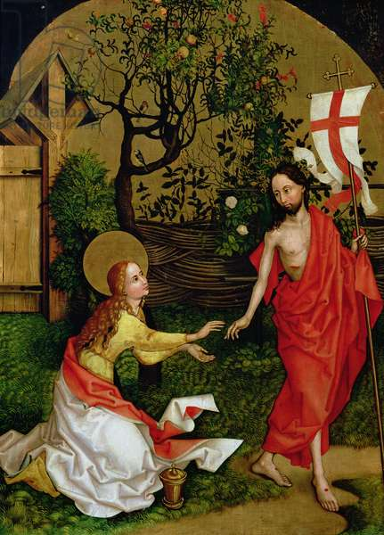 Altarpiece of the Dominicans: Noli Me Tangere, c.1470-80 (oil on panel)