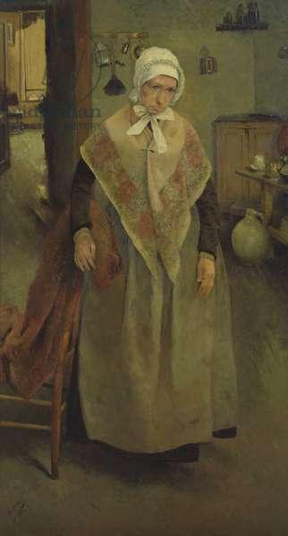 The Elderly Servant, 1884 (oil on canvas)