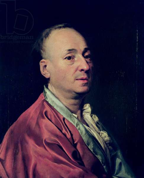 Denis Diderot (1715-84) 1773 (oil on canvas)