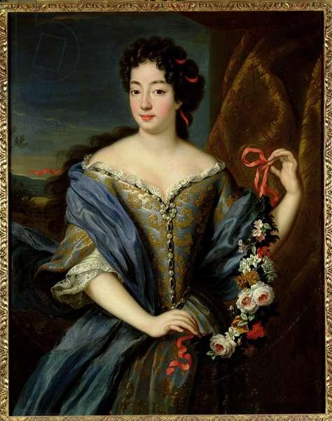Portrait of Anne de Baviere (1648-1723) (oil on canvas)
