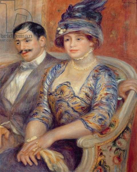 Mr. and Mrs. Bernheim de Villers, 1910 (oil on canvas)