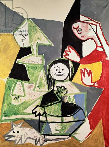 The Family of Philip IV, no.42 from 'Las Meninas', 1957 (oil on canvas)