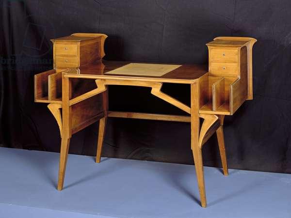 Lady's Bureau, c. 1897 (wood)