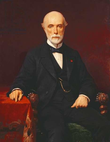 Louis-Charles de Saulces de Freycinet (1828-1923) 1880 (oil on canvas)