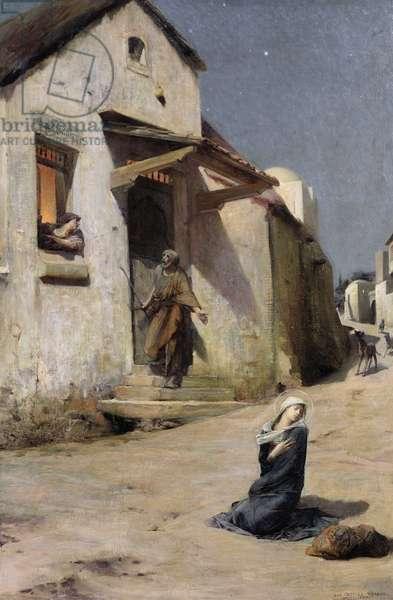 The Arrival at Bethlehem, 1897 (oil on canvas)
