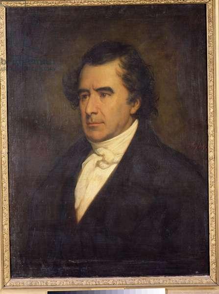 Portrait of Dominique Francois Jean Arago (1786-1853) 1842 (oil on canvas)
