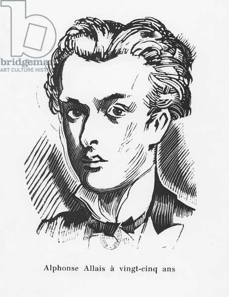 Alphonse Allais (woodcut)