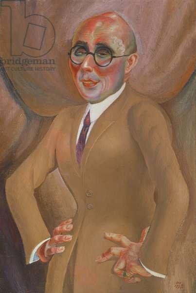 Karl Krall, 1923 (oil on canvas)