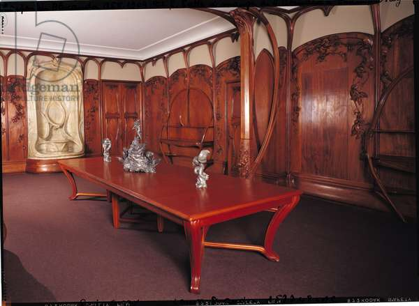 Dining Room belonging to Adrien Benard (1846-1912), at Champrosay, 1900-01 (photo)