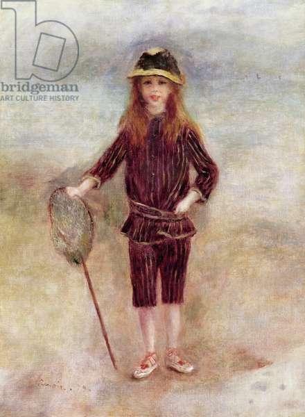 The Little Fisherwoman (Marthe Berard) 1879 (oil on canvas)