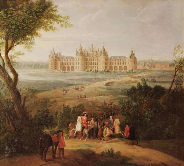 The Chateau de Chambord, 1722 (oil on canvas)
