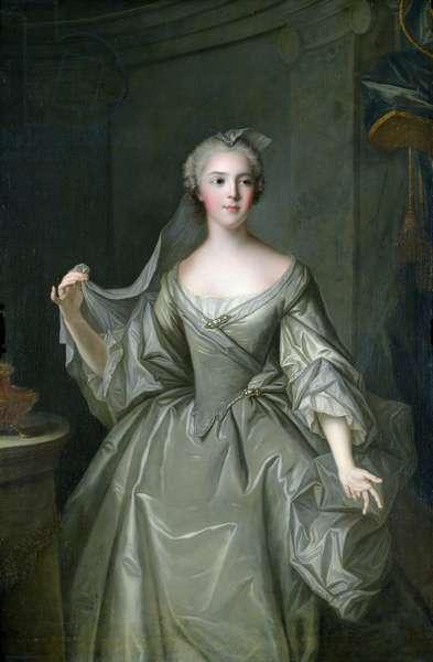 Madame Sophie de France (1734-82) as a Vestal Virgin (oil on canvas)