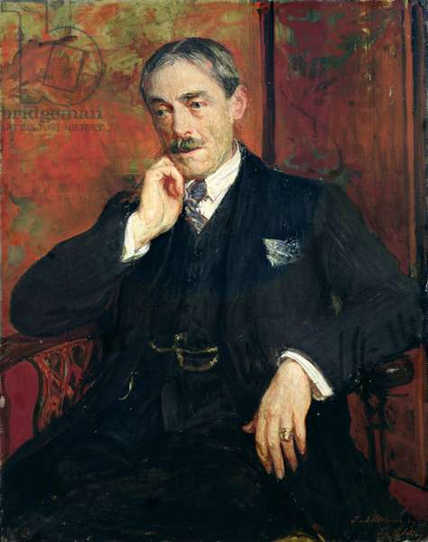Portrait of Paul Valery (1871-1945), 1923 (oil on canvas)