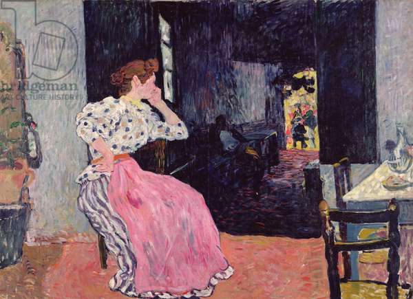 Woman at the Cabaret, 1891 (oil on canvas)