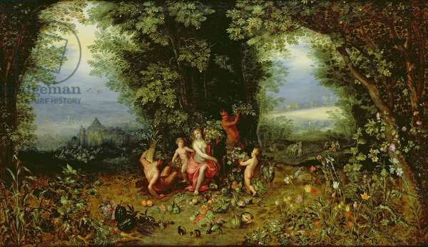 Allegory of the Earth (oil on panel)