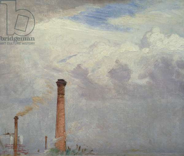 The Chimneys, 1906 (oil on canvas)