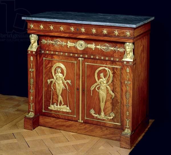 Sideboard, c.1810 (wood & marble)