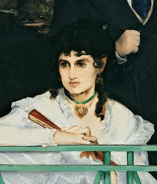 The Balcony, 1868-9 (oil on canvas) (detail of 967)