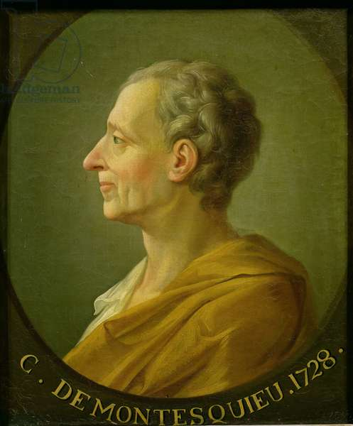 Portrait of Charles de Montesquieu, 1728 (oil on canvas)