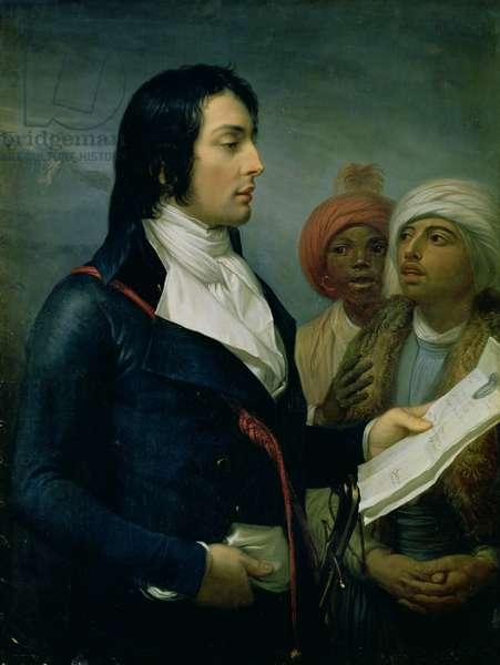 Portrait of Louis-Charles-Antoine Desaix de Veygoux (1768-1800) 1800 (oil on canvas)