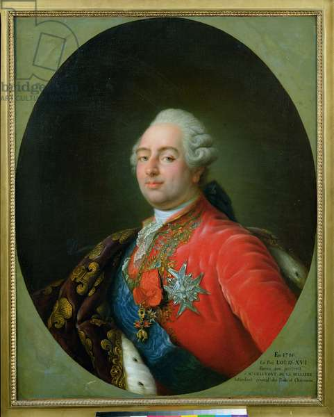 Louis XVI (1754-93) 1786 (oil on canvas)