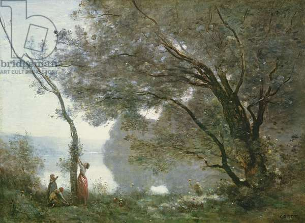 Souvenir of Mortefontaine, 1864 (oil on canvas)