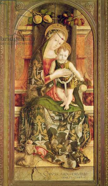 Virgin and Child, 1482 (oil on panel)