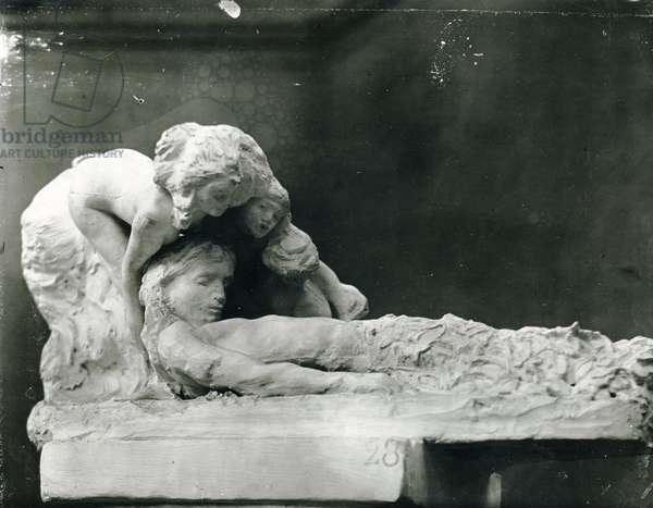 Resurrection of the Poet (plaster)