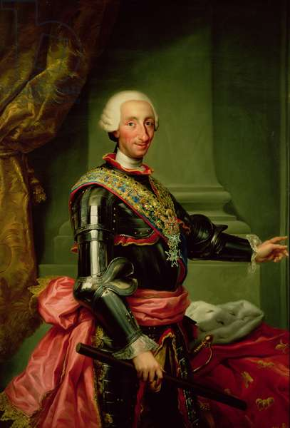 Portrait of Charles III (1716-88) c.1761 (oil on canvas)
