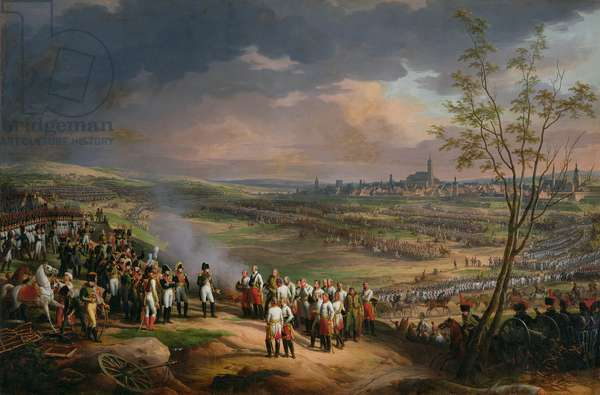 The Surrender of Ulm, 20th October 1805, 1815 (oil on canvas)