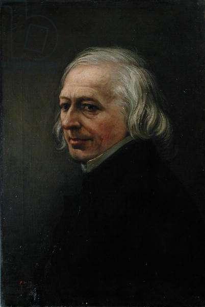 Portrait of Charles Philipon (1806-62) (oil on canvas)