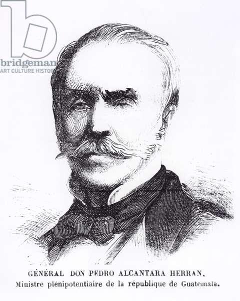 Pedro Alcantara Herran (engraving)