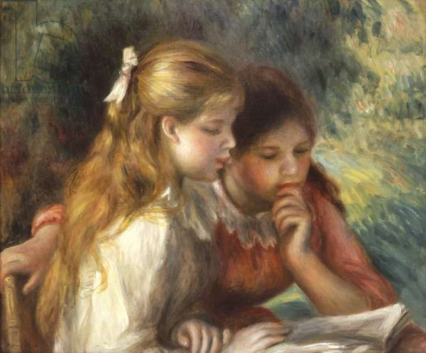 The Reading, c.1890-95 (oil on canvas)