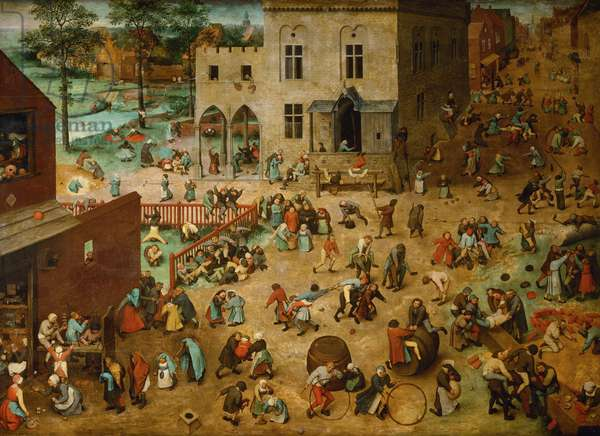 Children's Games, 1560 (oil on panel)