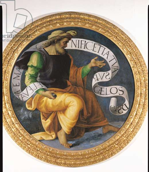 The Prophet Isaiah, c.1512-17 (oil on panel)