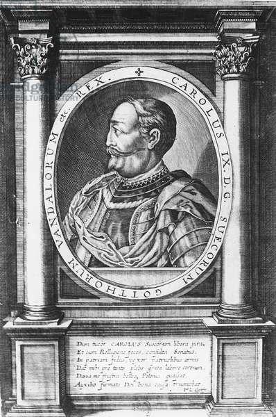 Charles IX, King of Sweden (engraving)
