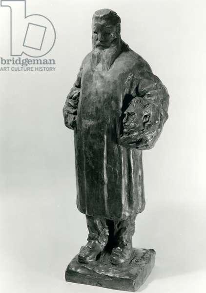 Portrait of Auguste Rodin, 1922 (bronze)