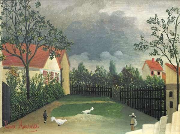 The Farm Yard, 1896-98 (oil on canvas)
