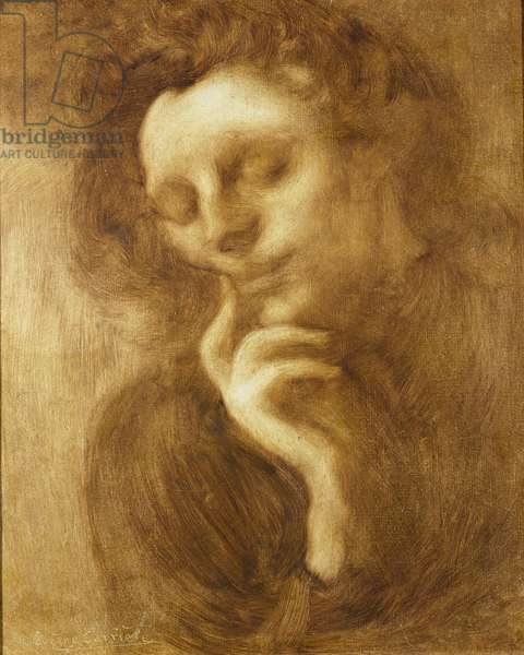 Portrait of a Woman or, Tenderness (oil on canvas)