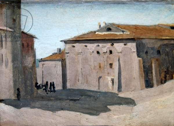 Place Amarino (oil on canvas)