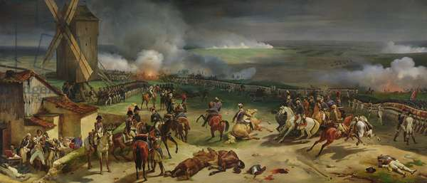 Battle of Valmy, 20th September 1792, 1835 (oil on canvas)