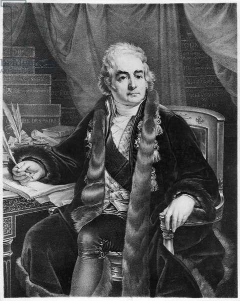 Jean Antoine Chaptal, Comte de Chanteloup (litho)